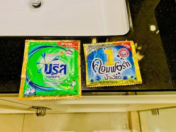 137 ピラーズ レジデンシズ バンコク(137 Pillars Residences Bangkok)の備え付け洗剤