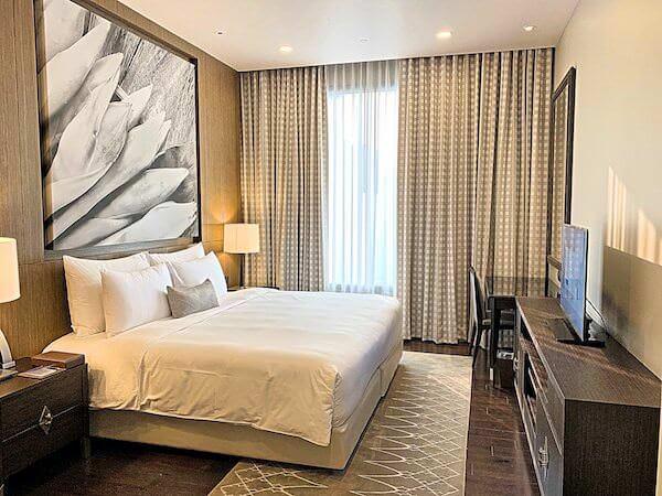 137 ピラーズ レジデンシズ バンコク(137 Pillars Residences Bangkok)のベッドルーム