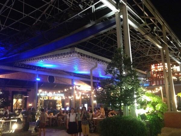 タウンスクエア地区のレストラン