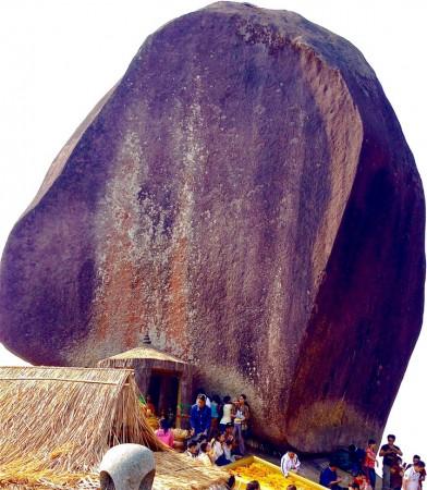 カオキッチャクット国立公園の頂上にある岩