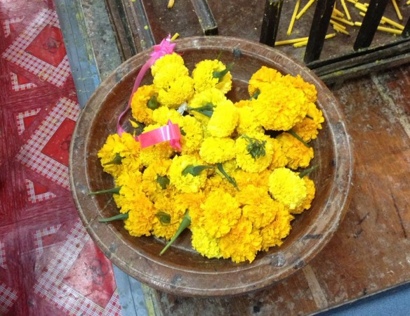 蓮の花の受け皿
