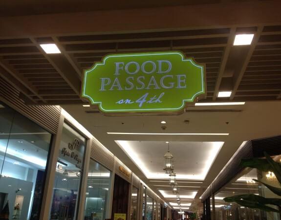Food Passengerの入り口
