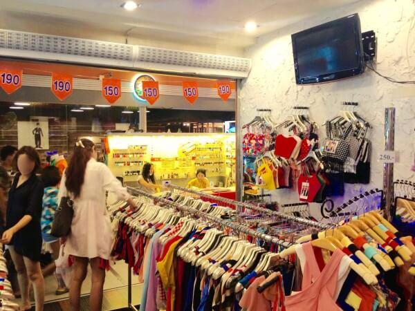 女性用衣類店