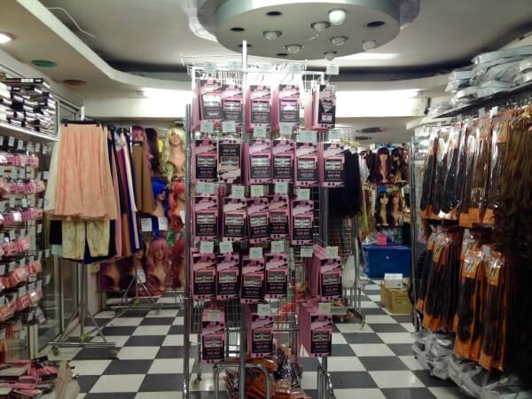 女性用の店