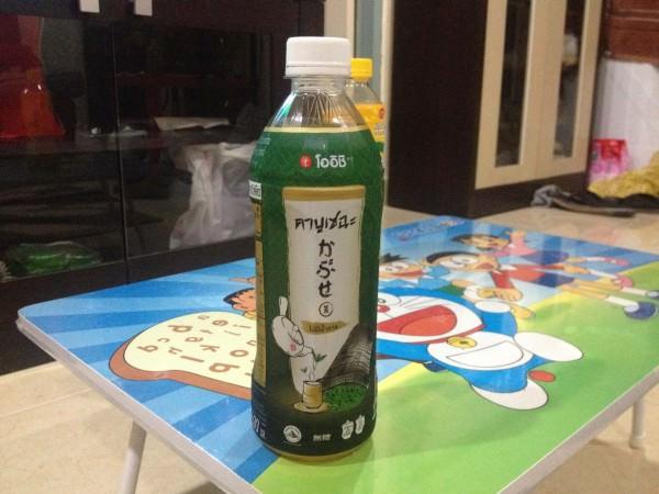 OISHIのかぶせ茶ノーシュガー