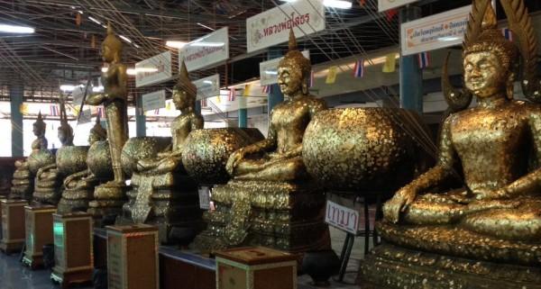 7体の仏像
