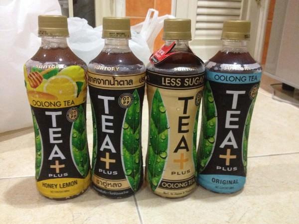 サントリーのTEA+4種類