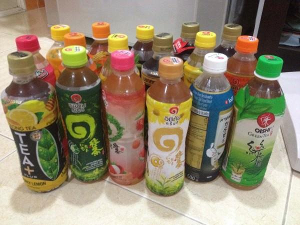 タイのお茶を完全比較。全部甘いのか?