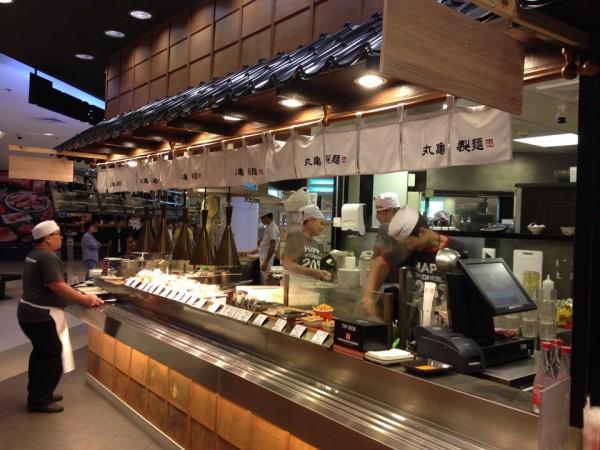 シーコンスクエアの丸亀製麺