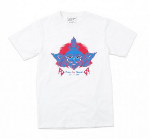 ネパール支援のTシャツ