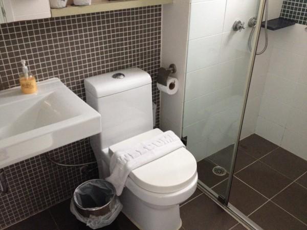 アットマインドのトイレ