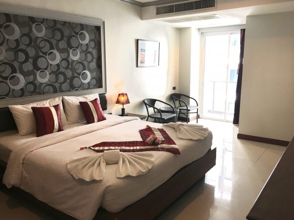 H ブティック ホテル パタヤ (H Boutique Hotel Pattaya)の客室1