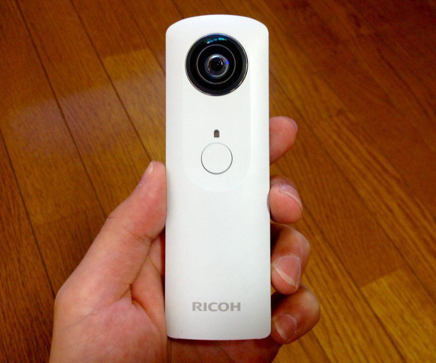 最強のカメラ。簡単に360度撮影ができるRICOHのthetaがスゴすぎる!