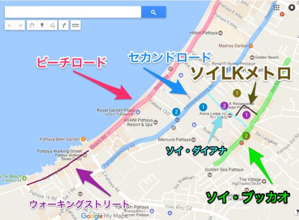 ソイLKメトロ周辺の拡大MAP