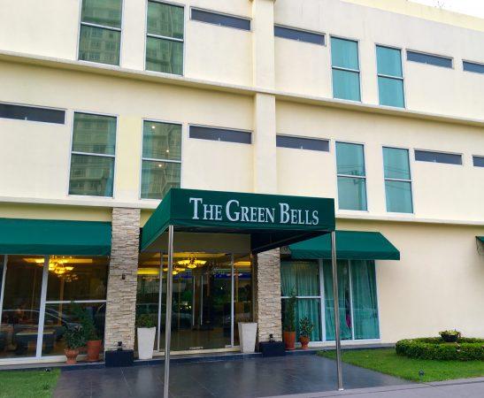 グリーンベルズホステルの外観