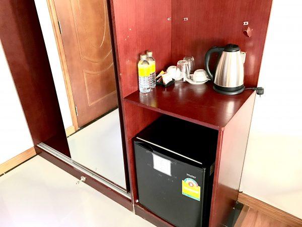 ザ プリヴィ ホテル (The Privi Hotel)の冷蔵庫