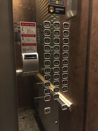 バイヨークのエレベーター