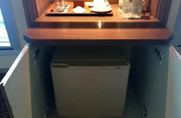 バイヨークスカイホテルの冷蔵庫