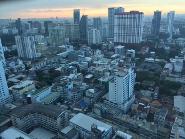 バイヨーク スカイ ホテル(Baiyoke Sky Hotel)の客室から見える景色