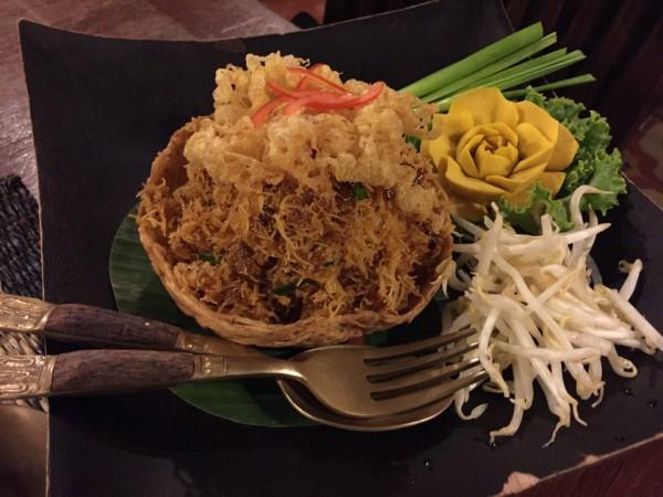 タイ揚げ麺