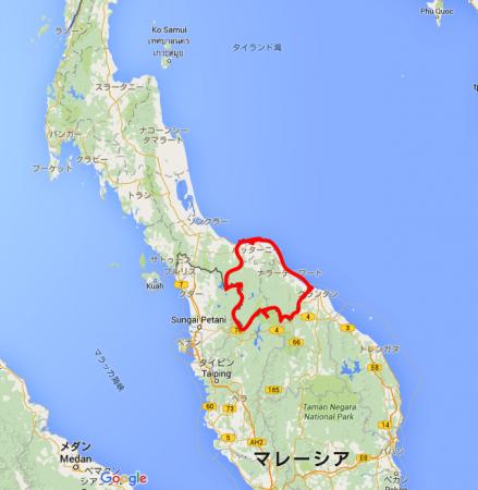 タイ深南部