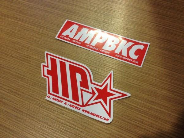 ampbkkのステッカー