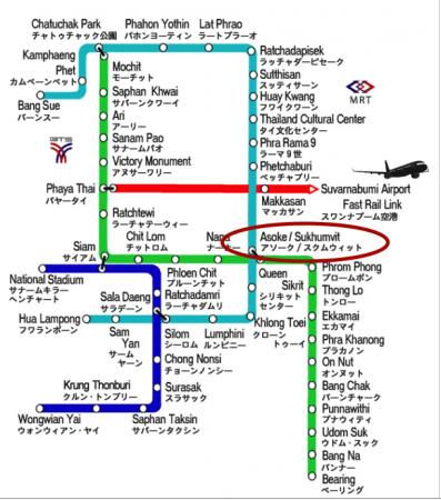 BTSのマップ