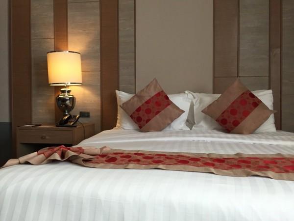 バークレイホテルのベッド