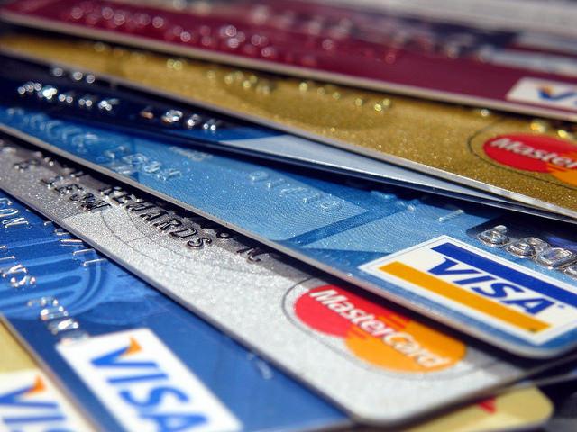 クレジットカードの虹