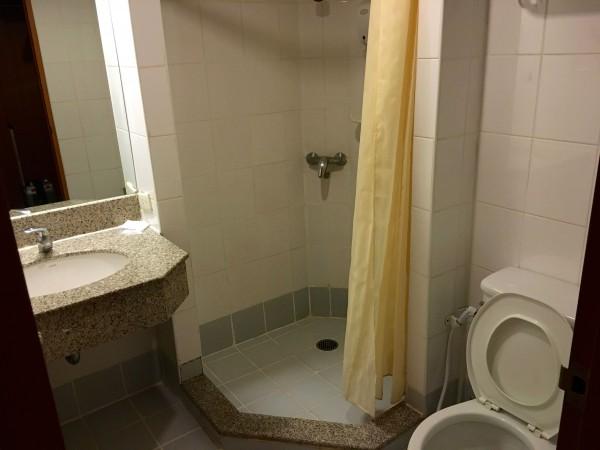 ステーションワンホテルのバスルーム