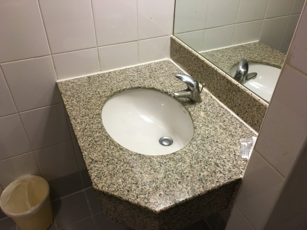 ステーションワンホテルの洗面台