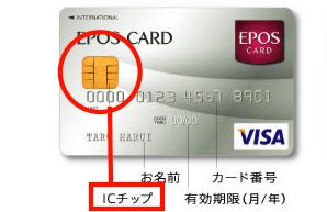 エポスのICカード