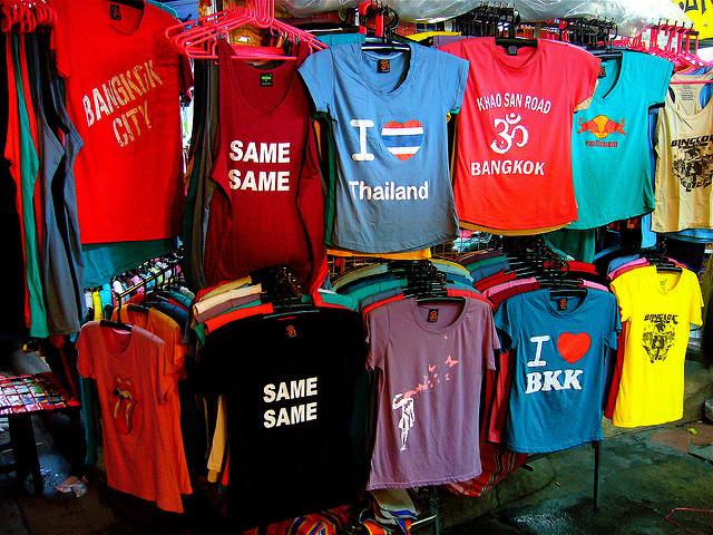 「タイ Tシャツ お店」の画像検索結果
