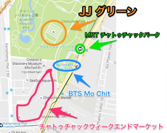 JJグリーン周辺の図