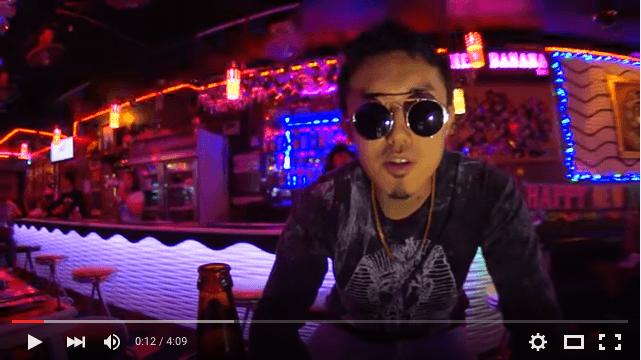 タイで活動する日本人ラッパーMek Piisuaが最近好き。