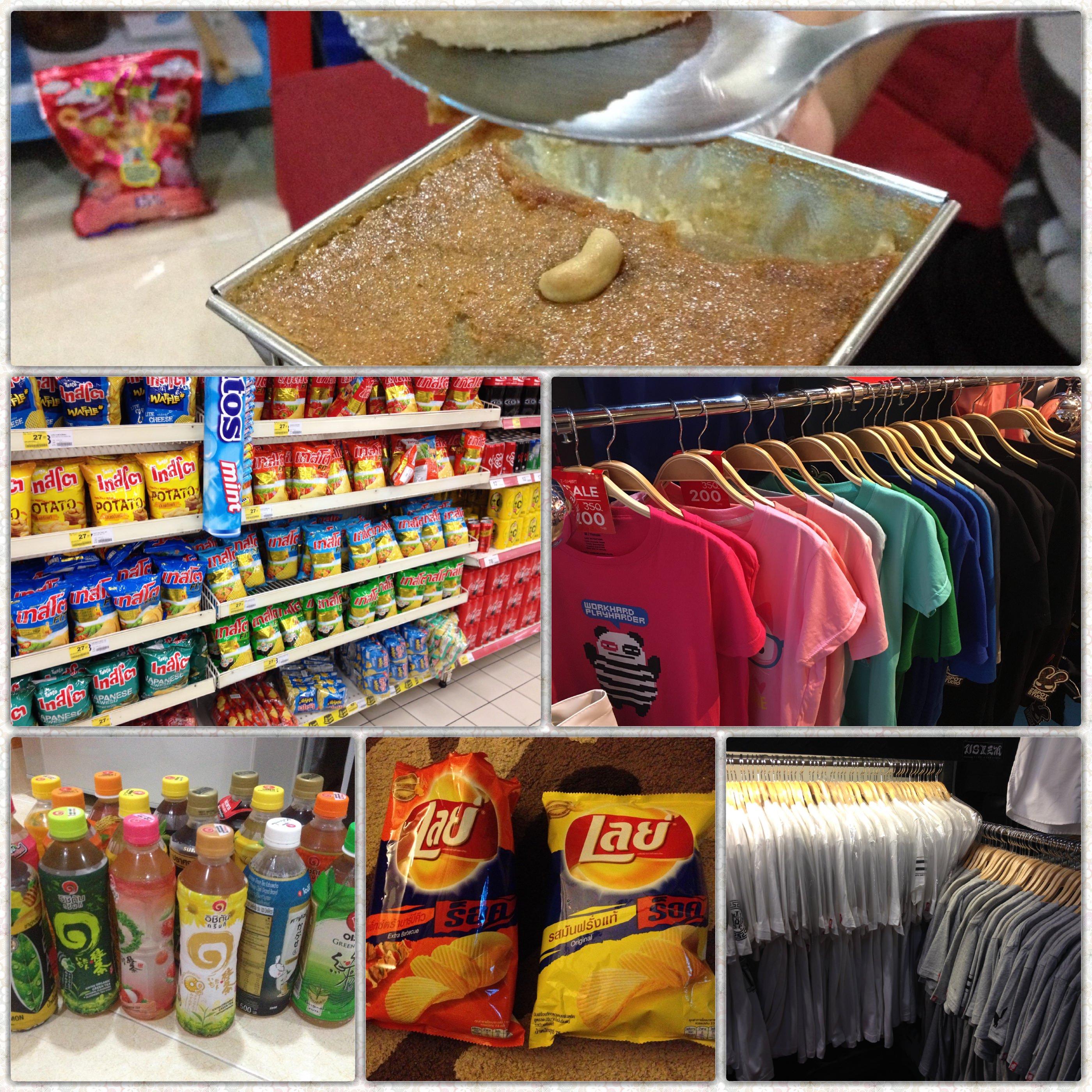 1000円以下で買えるタイの安いお土産。おすすめの食べ物と服を中心に紹介。