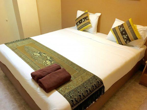 タイコージーハウスのベッド