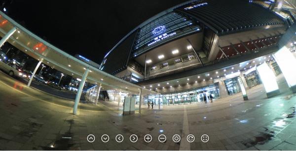 シータ 博多駅を撮影