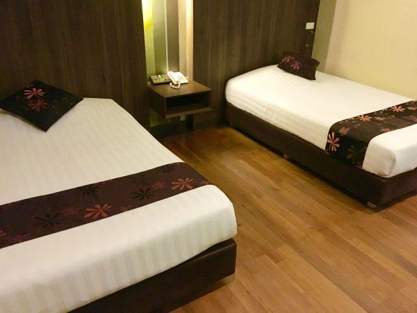 ディババリーホテル ベッド