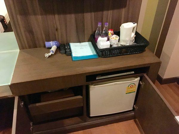 ディババリーホテル 冷蔵庫