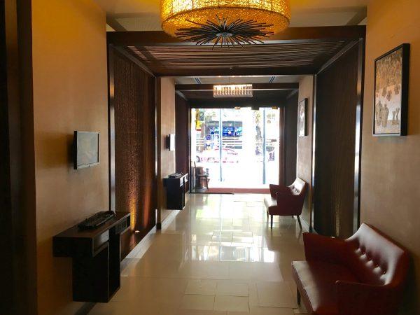ディババリーホテル エントランス