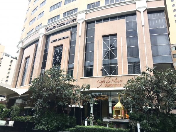 グランド スクンビット ホテル バンコク マネージド バイ アコー (Grand Sukhumvit Hotel Bangkok ? Managed by Accor)の外観