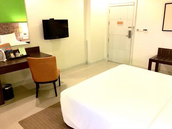 レガシー エクスプレス スクンビット バイ コンパス ホスピタリティ (Legacy Express Sukhumvit by Compass Hospitality)の客室2