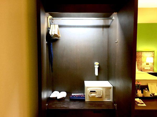スーペリア ダブルルーム (Superior Double Room)のクローゼット
