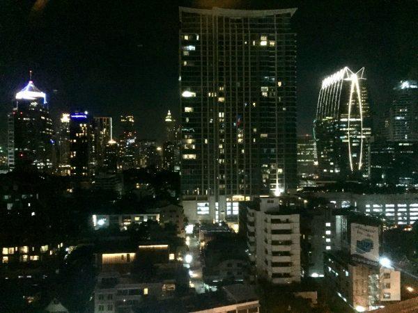 マジェスティック グランデ ホテル (Majestic Grande Hotel)の客室から見える夜景