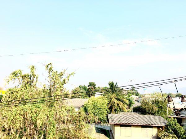 P アンド P プレイス アパートメント カンチャナブリー (P and P Place Apartment Kanchanaburiから見える景色