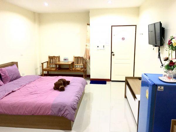 P アンド P プレイス アパートメント カンチャナブリー (P and P Place Apartment Kanchanaburi)の客室3