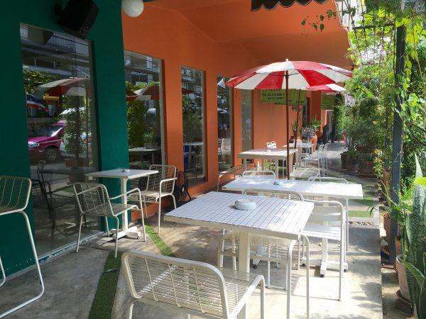 ソイカセムサンのカフェ