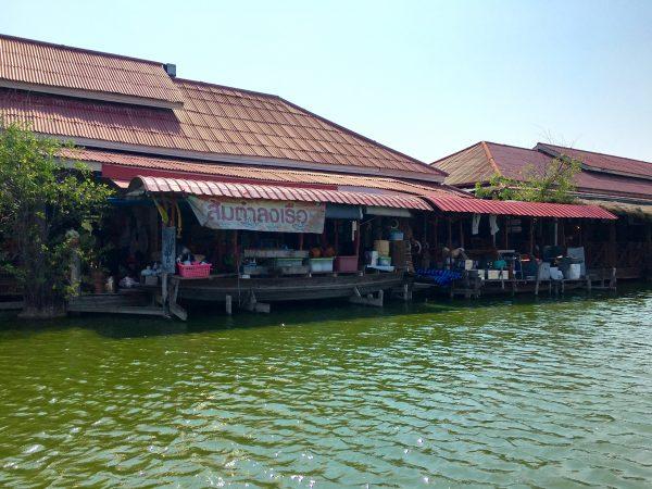 サンパンナム水上マーケット ボートツアー14