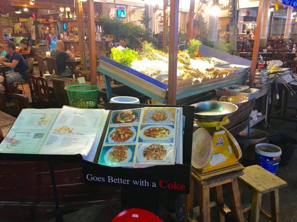 ホアヒン ナイトマーケット シーフードレストラン